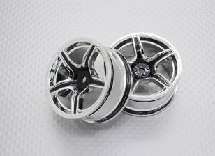 1:10 Scale High Quality Touring / Drift Wheels RC Car 12mm Hex (2pc) CR-C63B
