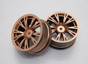 1:10 Scale High Quality Touring / Drift Wheels RC Car 12mm Hex (2pc) CR-BRG