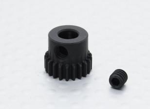 21T/5mm 48 Pitch Hardened Steel Pinion Gear