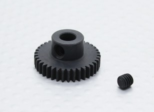 37T/5mm 48 Pitch Hardened Steel Pinion Gear