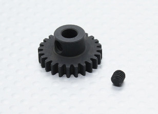 24T/5mm 32 Pitch Hardened Steel Pinion Gear