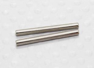 A-Arm Hinge Pins 2x23mm (2pcs/bag) - 1/10 Hobbyking Mission-D 4WD GTR Drift Car