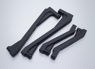 Front & Rear Chassis Brace - Nitro Circus Basher 1/8 Scale Monster Truck (1set)