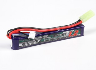 Turnigy nano-tech 1200mAh 2S 25-50C Lipo AIRSOFT Pack