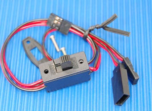 Receiver Switch (3 plug) Suits JR/Futaba