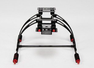 Multifunction Care-Free High Crab FPV Landing Gear Set (Black)