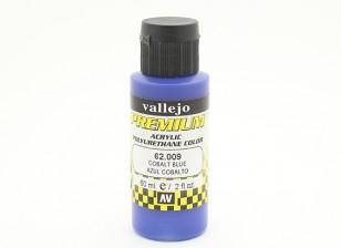 Vallejo Premium Color Acrylic Paint - Cobalt Blue (60ml) 62.009