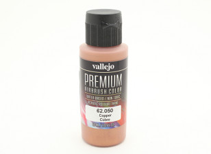 Vallejo Premium Color Acrylic Paint - Copper (60ml) 62.050