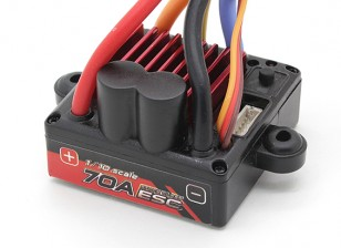 Turnigy TrackStar 1/10 70A Waterproof Car ESC   (Sensored Only)