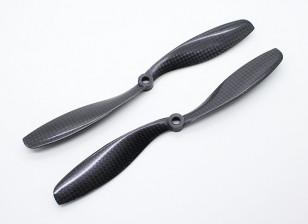 Carbon Fiber with DJI Fitting Propeller 8x4.5 Black (CW/CCW) (2pcs)