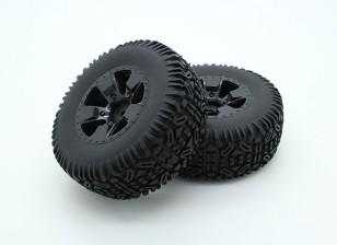 Tires Completed Set - Trooper Nitro