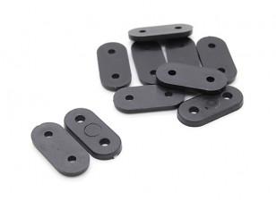 Landing Gear Straps (Black) 10pc