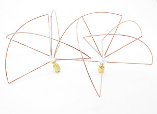 1.2 GHz Circular Polarized Antenna SMA (Set) (Short)
