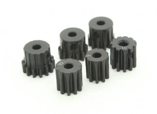 Hardened Steel Pinion Gear Set  32P To Fit  3.175mm Shaft (9/10/11/12/13/14T)