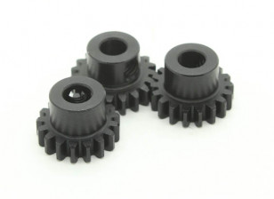 Hardened Steel Pinion Gear Set 32P To Fit 5mm Shaft (17/18/19T)