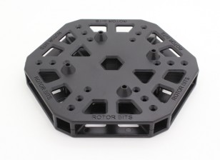 RotorBits HexCopter Mounting Center (Black)