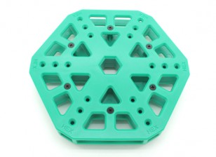RotorBits HexCopter Mounting Center (Green)
