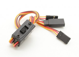 Futaba/JR Switch Harness with Charging Lead