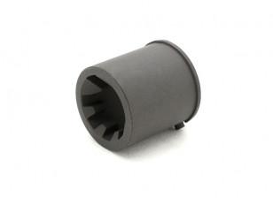 Steel CNC Barrel Element EX101 CNC Steel Barrel adaptor for WA M4 series