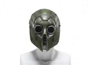 FMA Wire Mesh Full Face Mask (Green Monster)