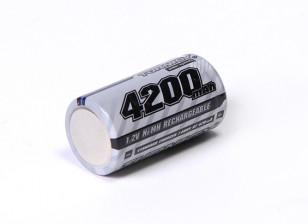 Turnigy Rechargeable Sub-C 4200mAh 1.2V NiMH High Power Series