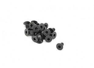 RJX X-TRON 500 M3 x 6mm C/Sunk Hex Screws # X500-8010 (20pcs)