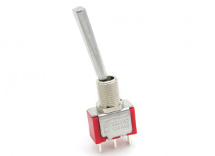 FrSKY Replacement Trainer Switch with Long, Flat Toggle for Taranis Transmitter