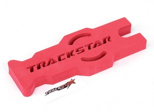TrackStar 1/10 & 1/12 Scale Touring / Pan Car Maintenance Stand (Red) (1pc)