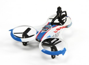 MINI UFO Y-4 Micro Multicopter w/2.4GHz Transmitter and Auto-Flip Feature (Mode 2) (Ready to Fly)