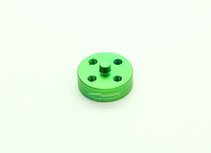 CNC Aluminum Quick Release Self-Tightening Prop Adapter - Green (Prop Side) (Counter-clockwise)