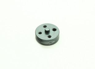 CNC Aluminum Quick Release Self-Tightening Prop Adapter - Titanium (Prop Side) (Clockwise)