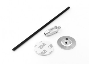 Mini GPS Antenna Base (Silver)