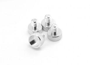 1/4 Inch Aluminum Alloy Camera Mounting Screws(4pcs/set)