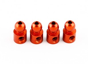 Basher RZ-4 1/10 Rally Racer - Optional 4.9mm Tripping Ball Head - Aluminum (4pcs)