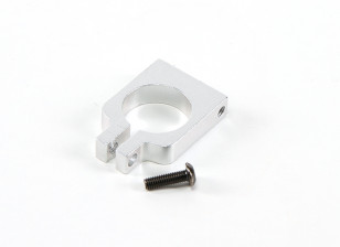 Silver CNC high-precision FPV tube clamp for FPV Mounting