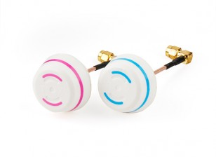 5.8GHz Circular Polarized Antenna Set-Transmitter and Receiver 90° (RP-SMA)