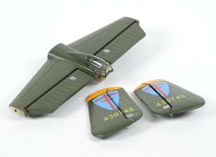 HobbyKing B-25 1250mm - Replacement Main Wing Tail Set