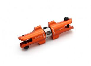 Tarot 450 Pro/Pro V2 DFC Metal Tail Holder Set with Thrust Bearings - Orange (TL45034-04)