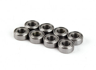BSR Racing M.RAGE 4WD M-Chassis - Bearing 5x10x4mm (8pcs)