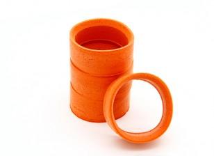 RiDE Molded Inner Foam for 1/10 Mini - Orange - Soft (4pcs)