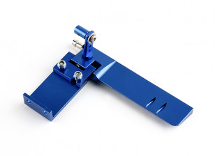 HobbyKing™ Aluminum Marine Rudder Assembly (Blue)