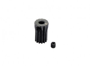 Hobbyking™ 0.5M Hardened Steel Helicopter Pinion Gear 3.17mm Shaft - 13T