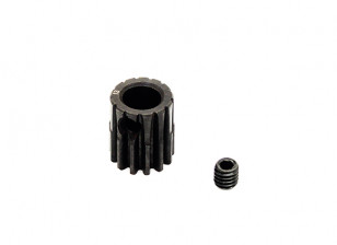 Hobbyking™ 0.7M Hardened Steel Helicopter Pinion Gear 6mm Shaft - 13T