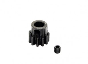 Hobbyking™ 1.0M Hardened Steel Helicopter Pinion Gear 6mm Shaft - 11T