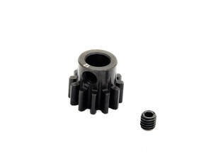 Hobbyking™ 1.0M Hardened Steel Helicopter Pinion Gear 6mm Shaft - 12T