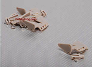 Horn X-Large w/ Clevis 40x30mm and eyelet (5pcs/set)
