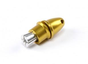 Propeller Adapter (Collet Type) Yellow 3.17mm