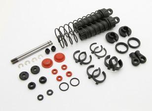 Rear Shock Set  - BSR Racing BZ-444 1/10 4WD Racing Buggy
