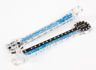 Upswept LED Upgrade Arms for V500 / H550 and DJI Flamewheel Multirotors (Blue) (2pcs)