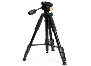 Q-111 Lightweight Aluminum Tri-pod For FPV Monitors and Cameras